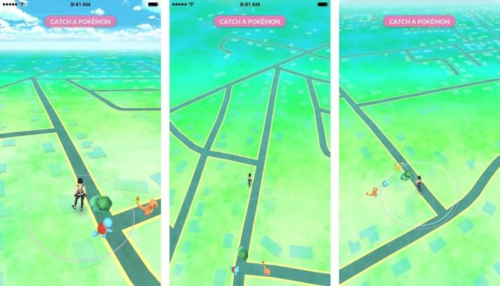 catch-pikachu-walk-screenshot-pokemon-go