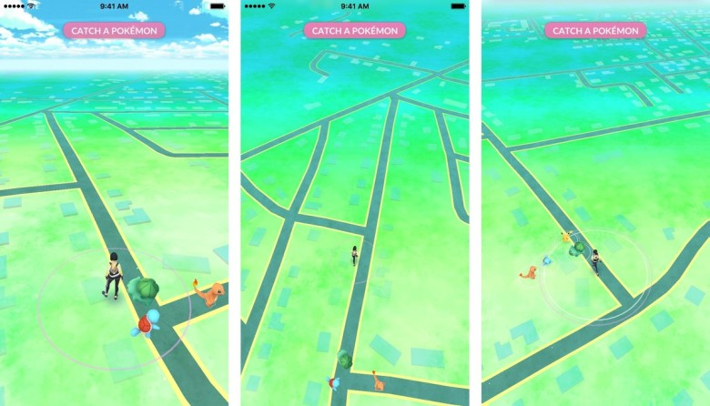 catch-pikachu-walk-screenshot-pokemon-go