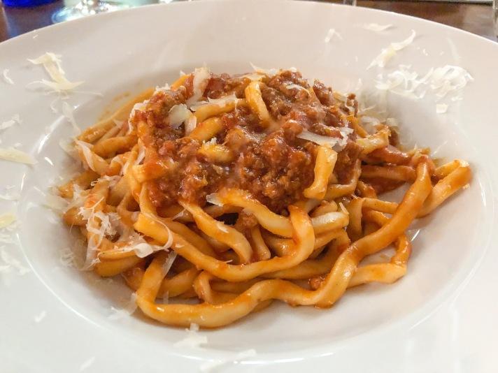 Casale Management - Food - Italia - Italy - Umbria - Orvieto - Il Labirinto di Adriano - Pranzo - Cena - Primo - Pasta - Umbrichelli con ragù
