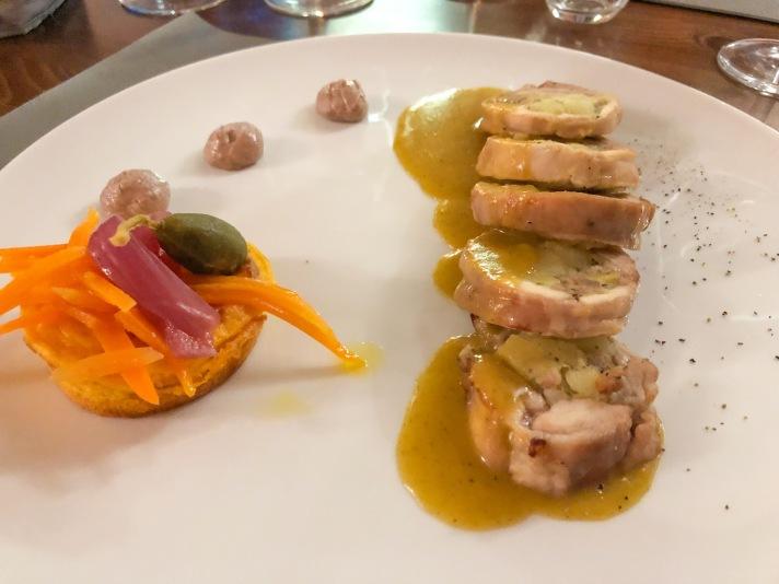 Casale Management - Food - Italia - Italy - Umbria - Orvieto - Il Labirinto di Adriano - Pranzo - Cena - Secondo - Coniglio in porchetta