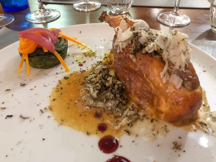 Casale Management - Food - Italia - Italy - Umbria - Orvieto - Il Labirinto di Adriano - Pranzo - Cena - Secondo - Galletto ripieno di patate e tartufo