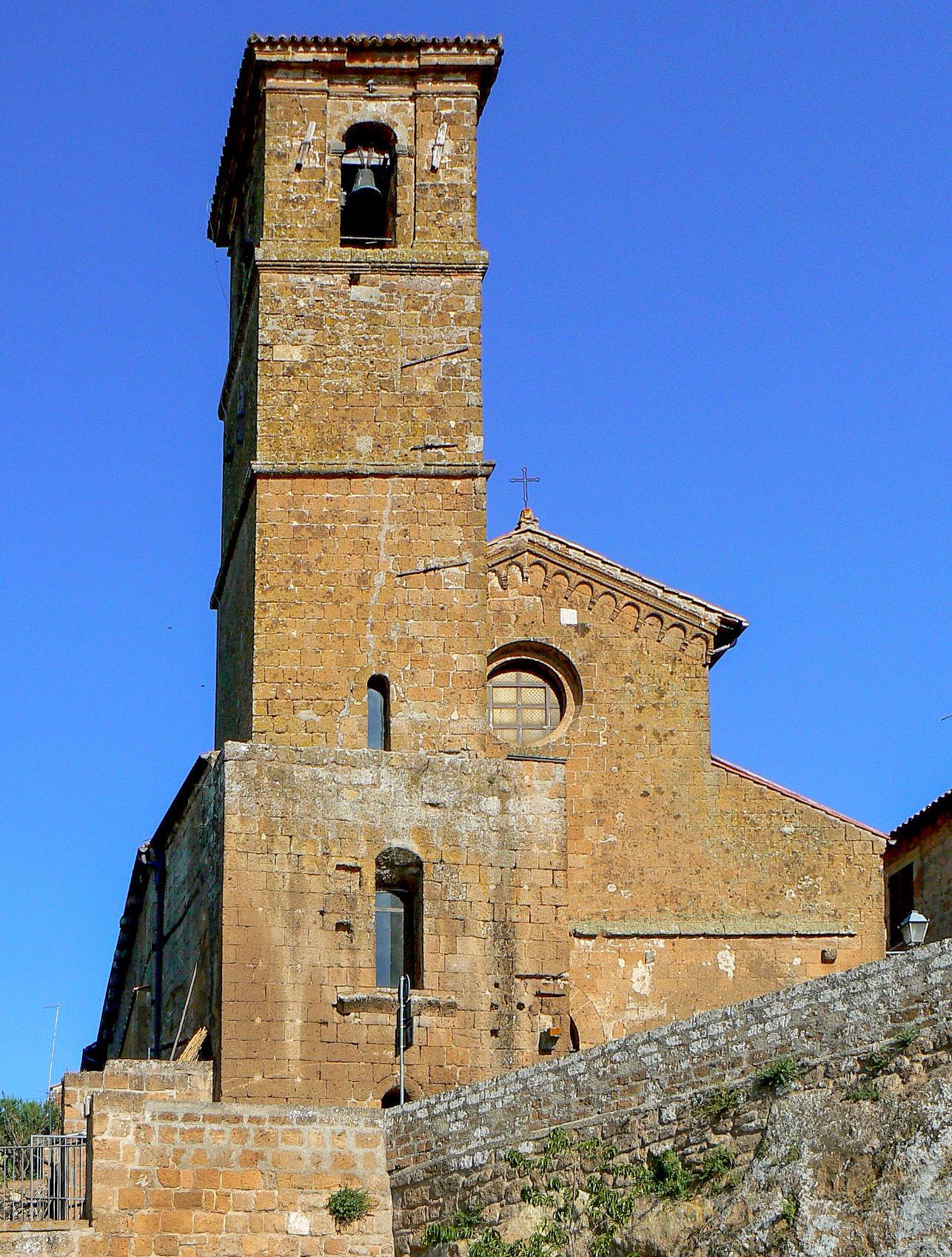 La chiesa di san Giovenale