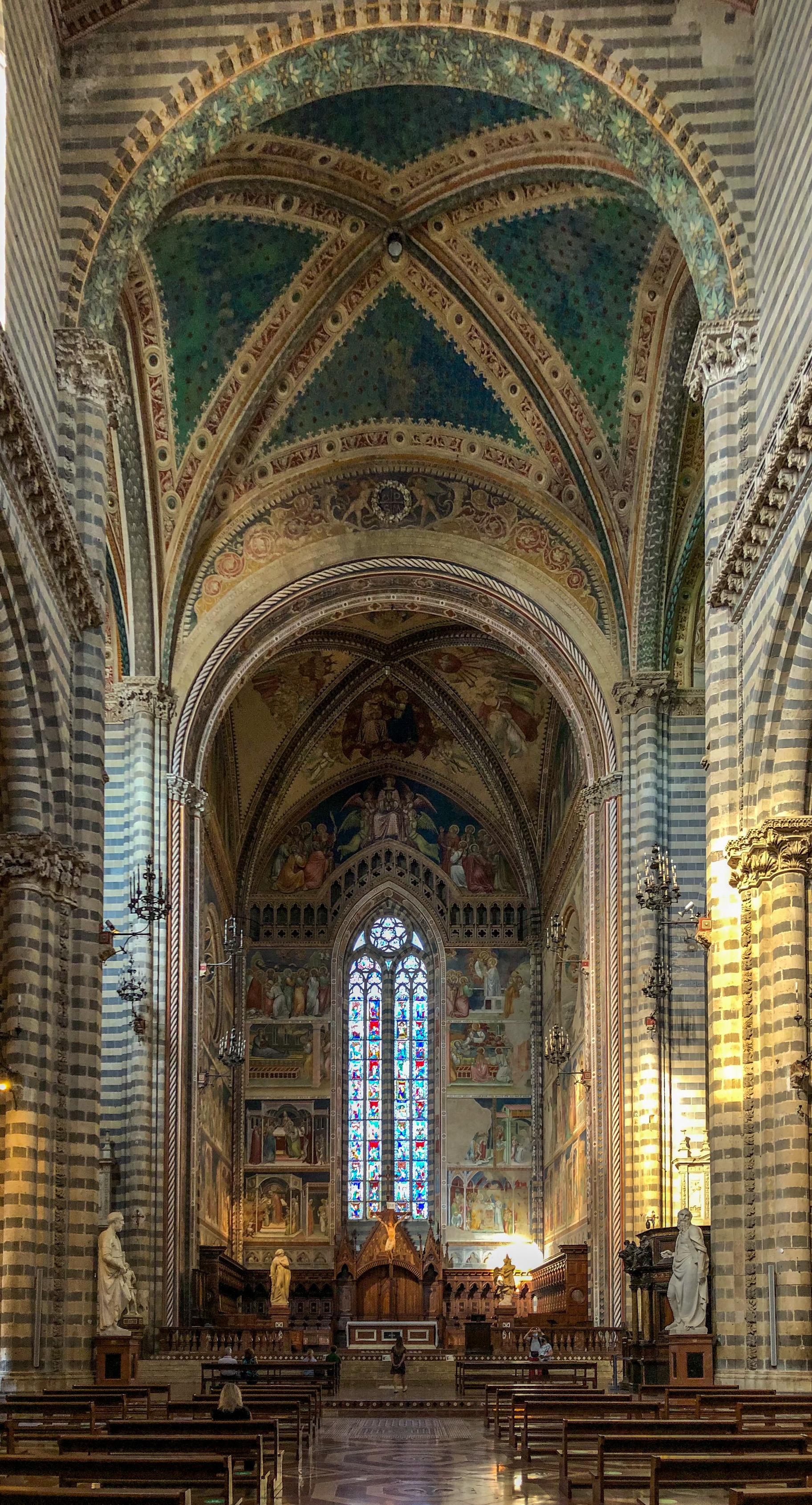 Italia - Italy - Casale Management - Travel - Orvieto - Duomo (interno) altare