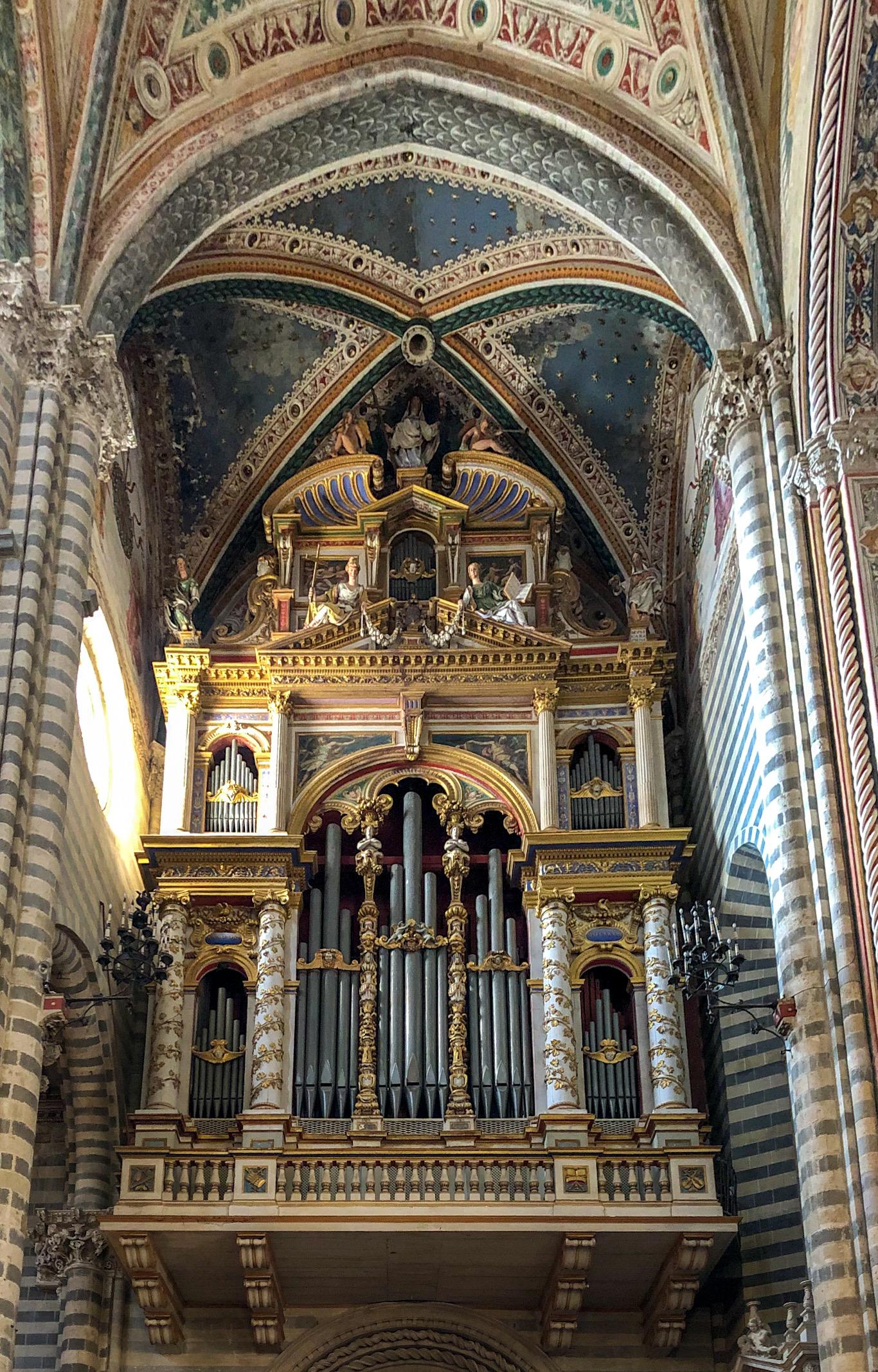 Italia - Italy - Casale Management - Travel - Orvieto - Duomo (interno) - Organo