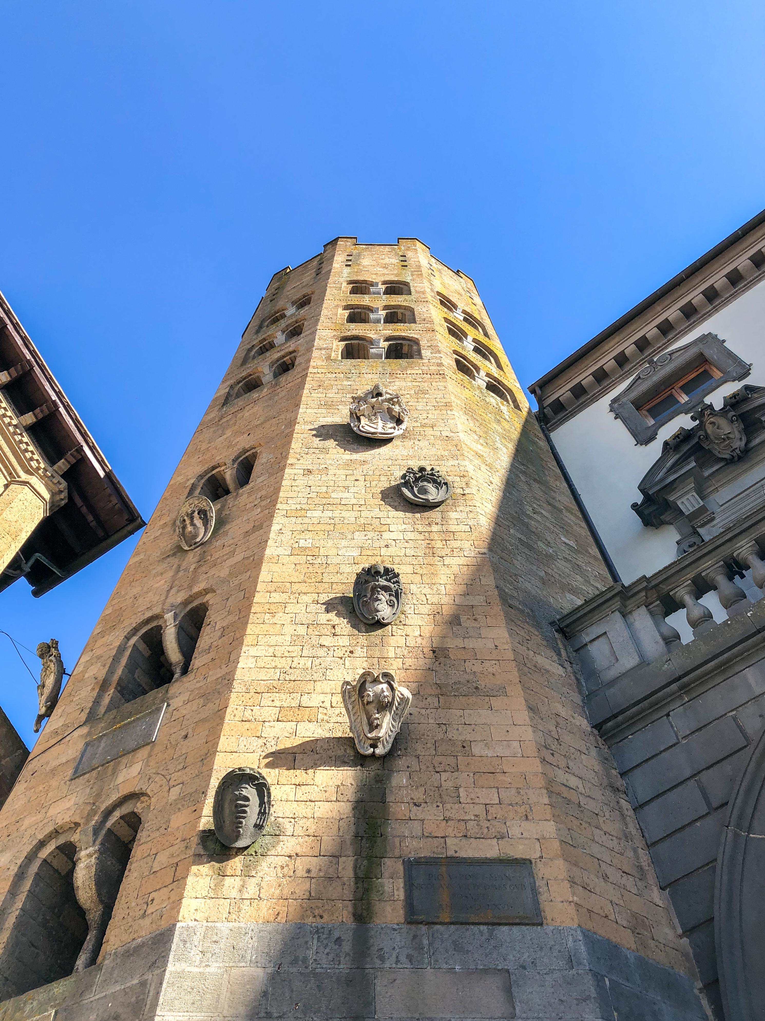 Italia - Italy - Casale Management - Travel - Orvieto - Torre della Collegiata dei Santi Andrea e Bartolomeo